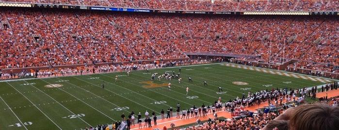 Neyland Stadium is one of SEC Football.