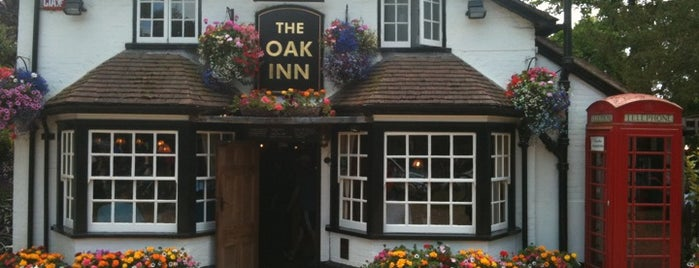 The Oak Inn is one of Lieux qui ont plu à Carl.