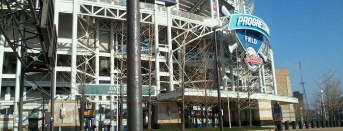 Progressive Field is one of Come C Cleveland! #VisitUs.