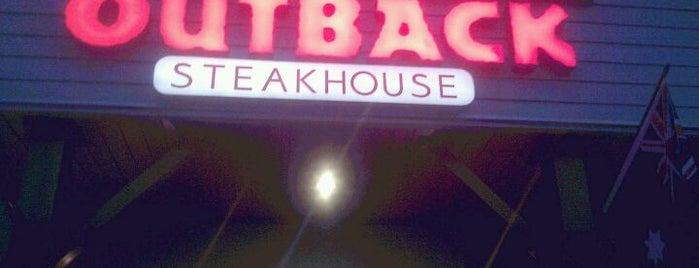 Outback Steakhouse is one of Goiania's Best Spots.
