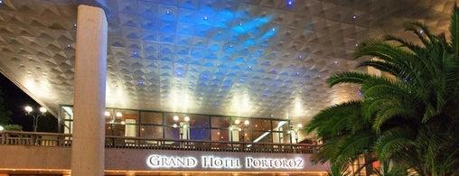 Grand Hotel Portorož is one of Monika's Saved Places.