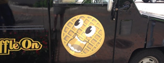 Grids Waffles is one of Washington DC Food Trucks.