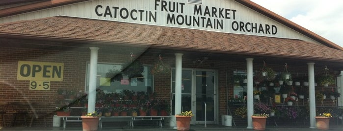 Catoctin Mountain Orchard Fruit Market is one of Posti salvati di Rachel.