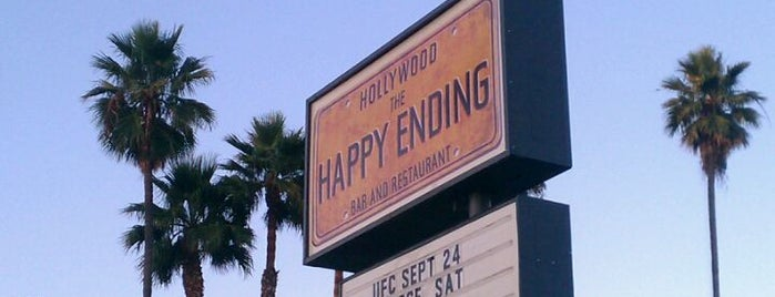 The Happy Ending Bar & Restaurant is one of Must-visit Bars in Hollywood.
