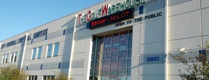 The Golf Warehouse is one of Locais curtidos por Tony.