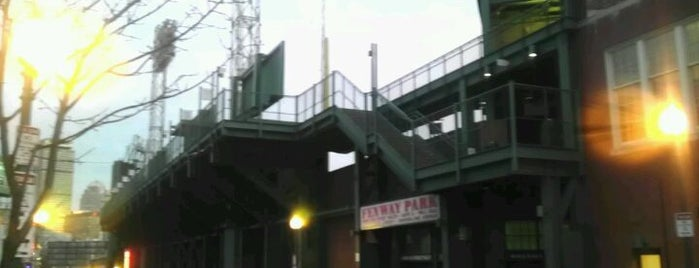 Fenway Park is one of Major League Baseball Parks.