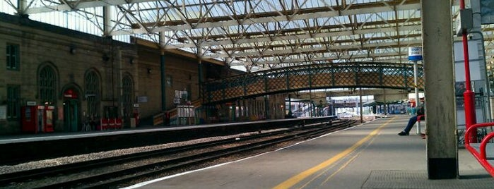 Carlisle Railway Station (CAR) is one of Railway stations visited.