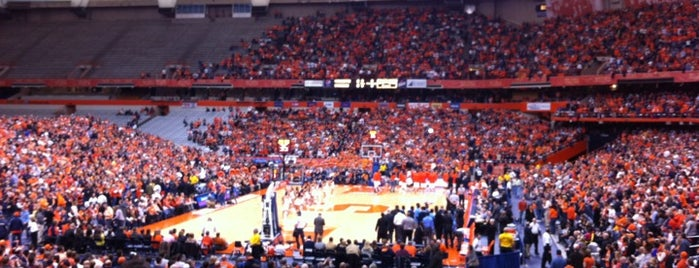 Carrier Dome is one of So, You're Stuck In Syracuse..