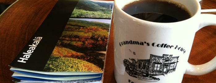 Grandma's Coffee House is one of Eating and hanging out in Maui.