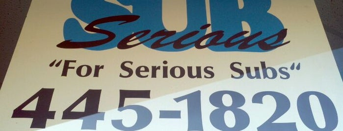 Sub Serious is one of Coral Gables Recommended Weekday Lunch Spots.
