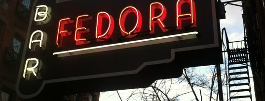 Fedora is one of cozy spots in NYC.