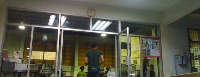 โรงยิม is one of สถานที่ที่ Julie ถูกใจ.