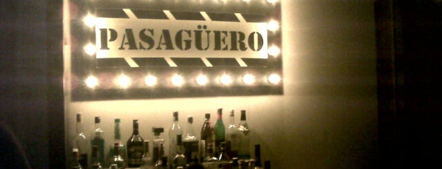 Pasagüero is one of My favorite places in Mexico Cit.