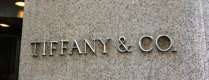Tiffany & Co. is one of NY.
