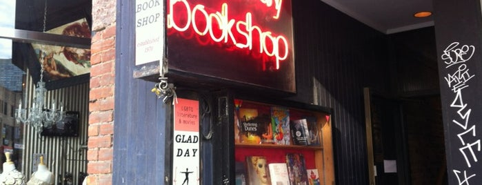 Glad Day Bookshop is one of Lieux sauvegardés par Sevgi.