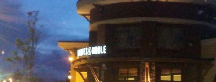 Barnes & Noble is one of สถานที่ที่ Emily ถูกใจ.