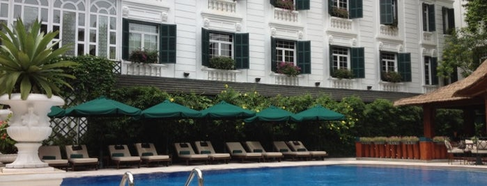 Sofitel Legend Metropole Hanoi is one of Hanoi 2014.