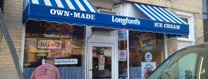 Longford's Own-Made Ice Cream is one of Westchester & Hudson Valley.