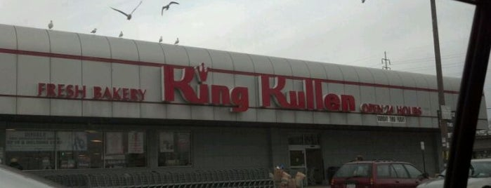 King Kullen is one of Chris'in Beğendiği Mekanlar.
