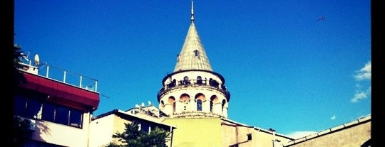 Galata Kulesi is one of Yeme İçme Listesi.