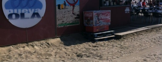 Nueva Ola is one of chiringuitos playa barcelona.
