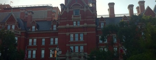 Johns Hopkins Hospital is one of Ziggy goes to Baltimore.