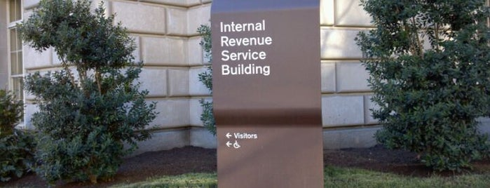 The Internal Revenue Service is one of A Not So Tourist Guide to DC.