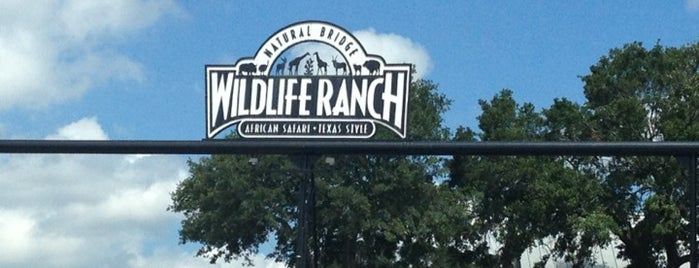 Natural Bridge Wildlife Ranch is one of Texas.