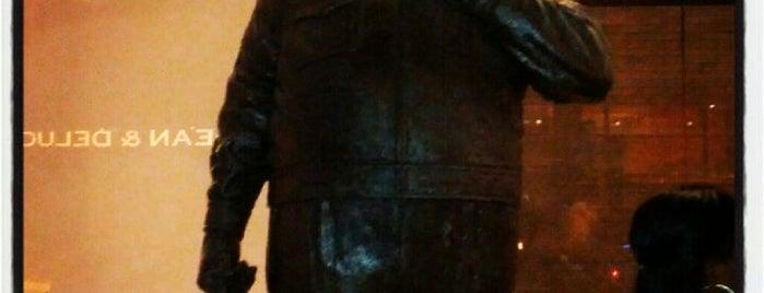 Ralph Kramden Statue is one of Sites.
