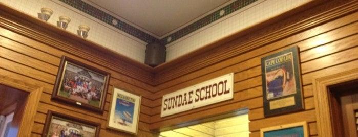 Sundae School is one of Cape Cod.