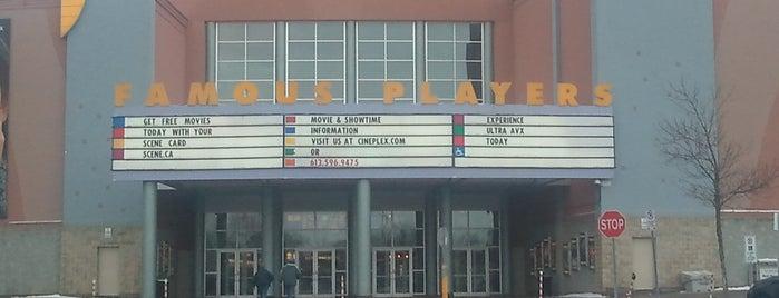 Cineplex Cinemas is one of Lugares favoritos de Sabrina.