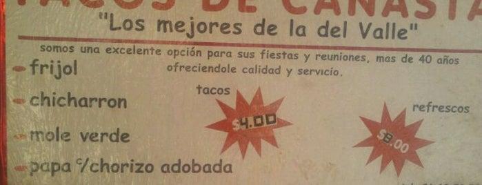 Tacos De Canasta is one of por conocer df.