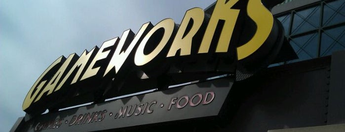 GameWorks is one of Favorite Arts & Entertainment.