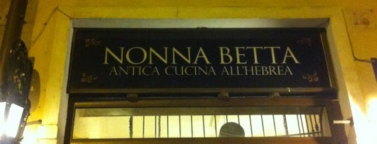 Nonna Betta is one of Rome.