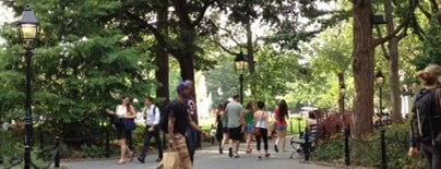 Washington Square Park is one of Places to Get Your Game On.