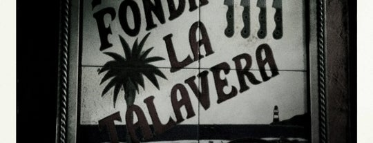 Fonda La Talavera is one of Mexico City.