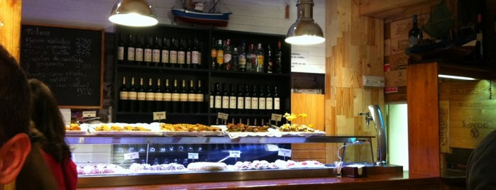 Taberna Txakolina is one of MADRID.