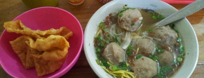 Bakso Solo Rindu Malam is one of The most favorite foods in Surabaya.