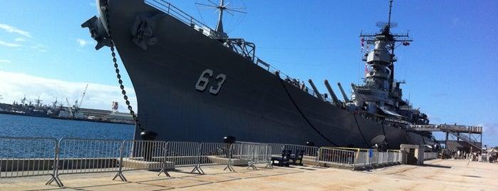 USS Missouri Memorial is one of Honolulu: The Big Pineapple #4sqCities.