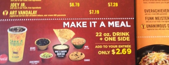 Moe's Southwest Grill is one of FAMILY TRAVEL PLANS.