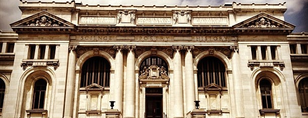 The Carnegie Library at Mount Vernon Square is one of Washington DC.