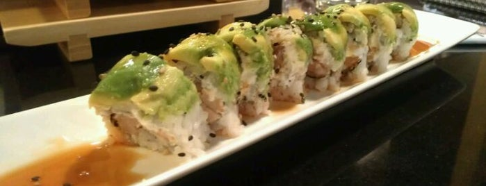 Jinju Sushi is one of Yums.