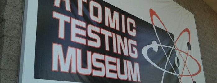 National Atomic Testing Museum is one of Vegas.