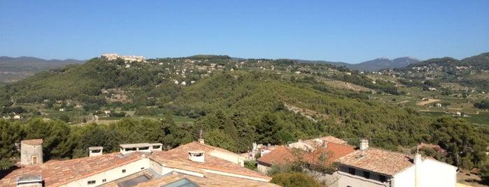 Hostellerie Berard La Cadiere-d'Azur is one of Tous au restaurant 2012 - du 17 au 23/09.