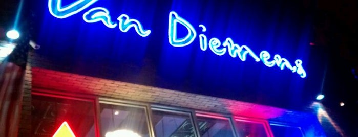 Van Diemen's is one of Neighborhood haunts.
