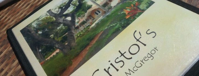 Christof's is one of To do.