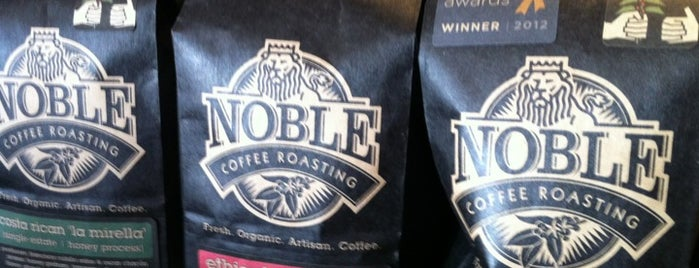 Noble Coffee Roasting is one of Ashland!.