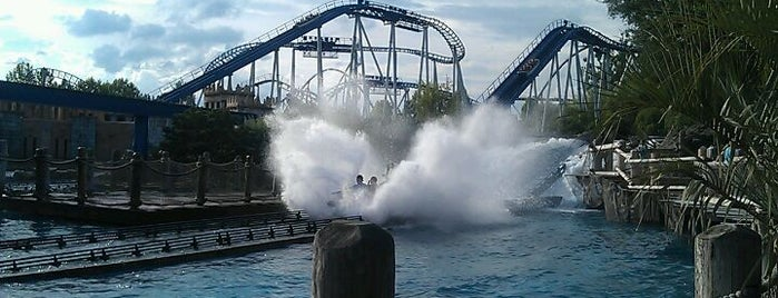 Wasserachterbahn Poseidon is one of Kevinさんのお気に入りスポット.