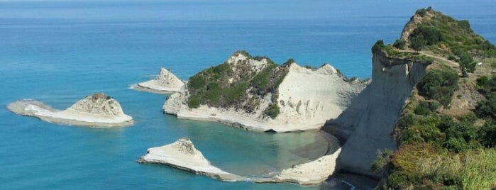 Cape Drastis is one of Corfu, Greece.