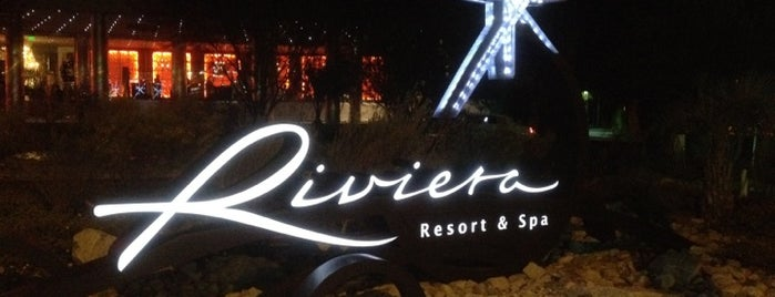 The Riviera Palm Springs, a Tribute Portfolio Resort is one of Vruttiさんの保存済みスポット.